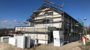 Baufortschritt in Bad Lippspringe